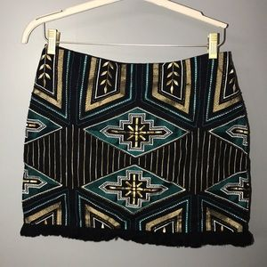Embroidered and embellished H&M Miniskirt